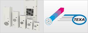 refroidisseur industriel, climatiseur, ventilateur industriel TEXA